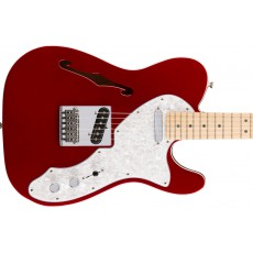 Fender Deluxe Telecaster Thinline w/ Maple Fingerboard - Candy Apple Red