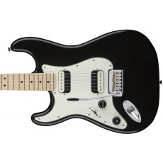 Squier Contemporary Stratocaster HH Left-Handed w/ Maple Fingerboard - Black Metallic