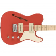 Fender Squier Paranormal Cabronita ThinlineTele - Fiesta Red