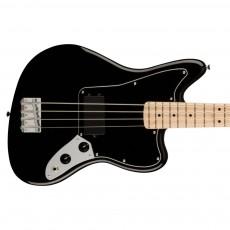 Fender Squier Affinity Series Jaguar Bass H, Maple Fingerboard, Black Pickguard, Black