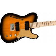 Fender Squier Paranormal Cabronita Telecaster® Thinline, Maple Fingerboard, Gold Anodized Pickguard, 2-Color Sunburst