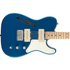 Fender Squier Paranormal Cabronita Telecaster® Thinline, Maple Fingerboard, Parchment Pickguard, Lake Placid Blue
