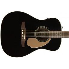 Fender Malibu Player Semi-Acoustic Guitar - Jetty Black