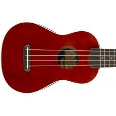 Fender Venice Soprano Ukulele - Cherry