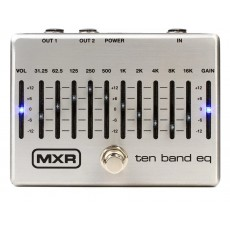 MXR M108S 10 Band Graphic EQ