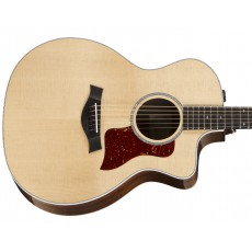 Taylor 214ce-CF DLX Grand Auditorium Semi Acoustic Guitar