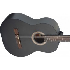 Stagg C440M Linden 4/4 Size Classical Guitar - Black
