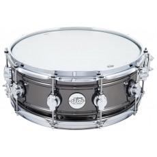 DW Design Series, 14x5.5 Inch Snare Drum - Black Nickel Over Brass