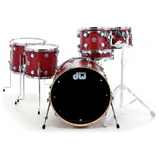 DW Collectors Pure Cherry 4 Piece Shell Pack - Natural Satin Oil