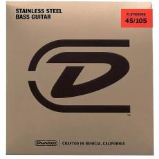 Dunlop MD-4 DBFS45105 Stainless Steel Flatwound Bass Strings (.045-.105)