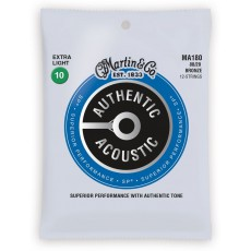 Martin MA180 Authentic Acoustic SP Strings, 80/20 Bronze 12 String Extra Light (.010-.047)