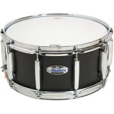 Pearl Masters MCT Snare 14 x 6.5 - Matt Caviar Black