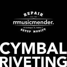 Cymbal Riveting - Musicmender Services