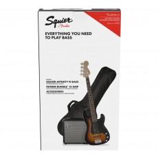 Fender Affinity Series Precision Bass PJ Pack, Laurel Fingerboard, Brown