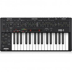 Behringer MS-1 Analog Synthesizer, Black