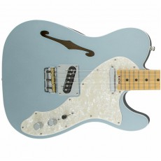 Fender American Eilte Telecaster Thinline, Maple Fingerboard - Mystic Ice Blue