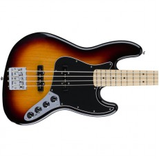 Fender Deluxe Active Jazz Bass, Maple Fingerboard, 3 Color Sunburst