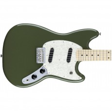 Fender Mustang, Maple Fingerboard - Olive