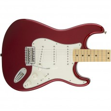 Fender Standard Stratocaster, Maple Fingerboard - Candy Apple Red