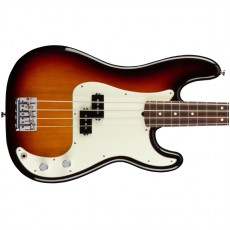 Fender American Pro Precision Bass, Rosewood Fingerboard - 3 Colour Sunburst