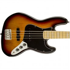 Squier Vintage Modified Jazz Bass '77, Maple Fingerboard - 3 Colour Sunburst