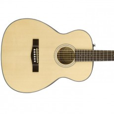 Fender CT-60S Acoustic Travel Guitar, Walnut Fingerboard, Natural