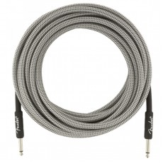 Fender 25' / 7.5m Professional Series Instrument Cable, 25', White Tweed