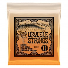 Ernie Ball 2329 Ball-End Nylon Ukulele Strings, Clear, .028 Gauge