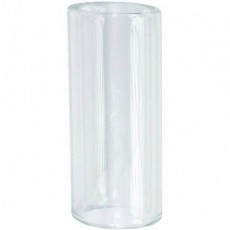 Boston Pyrex Glass Bottleneck Slide - 20 x 25 x 65mm