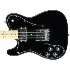 Fender Japan FSR Classic 70's Telecaster Custom, Left Hand - Black