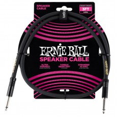 Ernie Ball 6071 Speaker Cable - 3' Straight / Straight