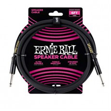 Ernie Ball 6072 Speaker Cable - 6' Straight / Straight