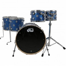 DW Collector's Series Finish Ply 5pc Shell Pack - Blue Glass