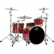 DW Performance Series 4 Piece Shell Pack - Candy Apple Red