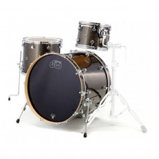DW Performance Series 3 Piece Shell Pack - Pewter Sparkle