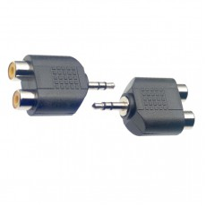 Stagg AC-2CFJMSH Audio Adapter, RCA Stereo Female to 3.5mm Stereo Jack Male, 2-Pack
