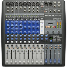Presonus StudioLive AR12 14-Channel Hybrid Performance and Recording Mixer
