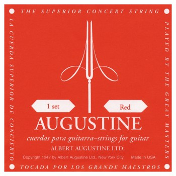 Augustine 7720 Red Label Classical Set Of Strings