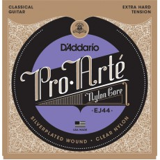 D'Addario EJ44 Pro-Arté Nylon Extra Hard Tension Classical Strings (.029-.045)