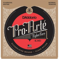 D'Addario EJ45 Pro-Arte Nylon Normal Tension Classical Strings (.028-.043)
