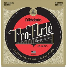 D'Addario EJ45C Pro-Arté Composite Nylon Normal Tension Classical Strings (.280-.044)