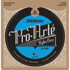 D'Addario EJ46C Pro-Arte Composite Classical Guitar Strings - Hard Tension