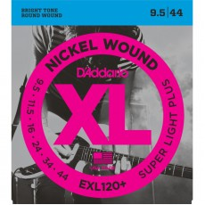 D'Addario EXL120+ Nickel Wound Super Light Plus Electric Strings (09.5-.044)