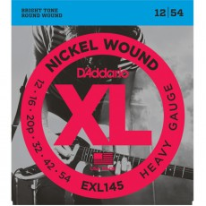 D'Addario EXL145 Nickel Wound Heavy Electric Strings (.012-.054)