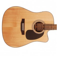 Sigma DMC-1STE+ 1 Series Dreadnought Electro Acoustic Guitar w/Cutaway - Natural