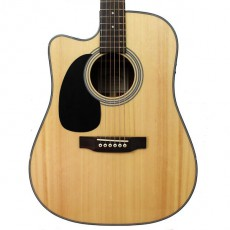 Sigma DMC-1STEL Left Handed Semi-Acoustic - Natural