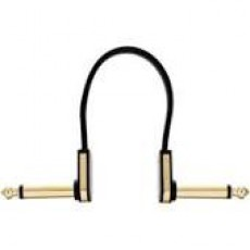 EBS HP-10, Flat Patch Cable Black Gold 10 cm