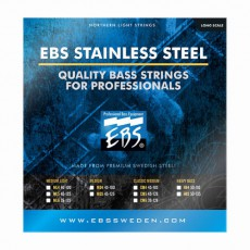 EBS SS-CM5 5-string Stainless Steel Classic Medium Bass Strings (.045-.128)
