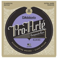 D'Addario EJ44C Pro-Arté Composite Classical Guitar Strings - Extra-Hard Tension