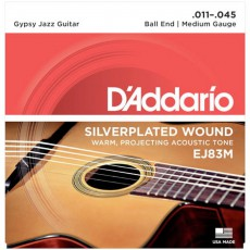 D'Addario EJ83M Gypsy Jazz Acoustic Guitar Strings (.011-.045)